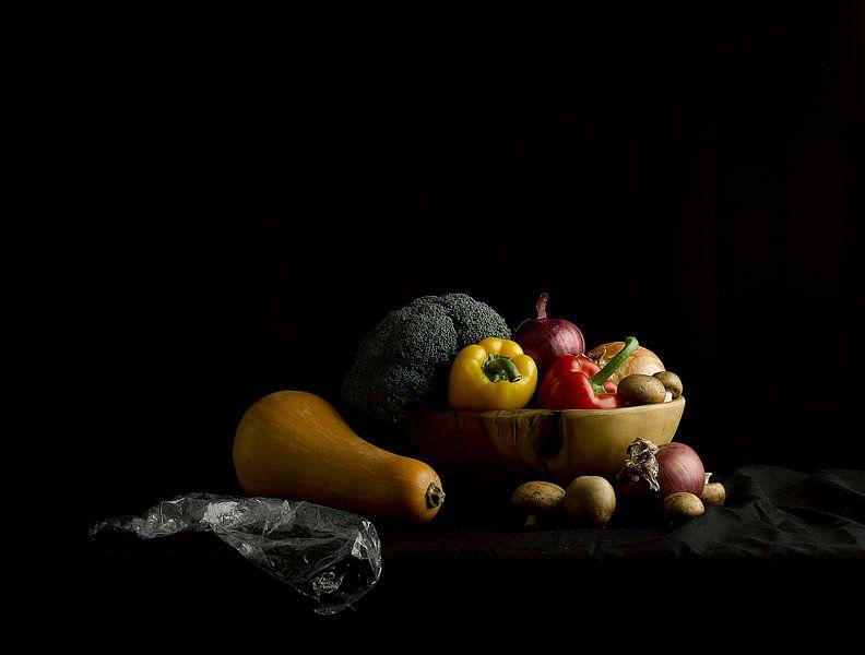 Groenten Stilleven van Guido Boogert