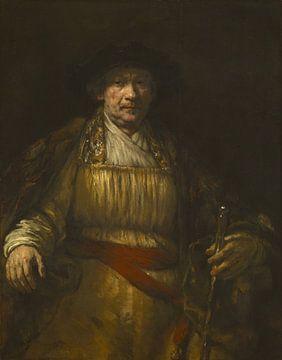 Selbstporträt, Rembrandt van Rijn
