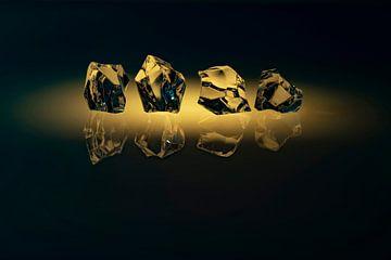 Stilleben mit Glas 1 von Alie Ekkelenkamp