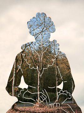 Mother Nature van Adriana Zoon