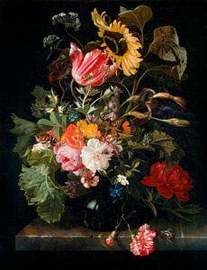 Blumenstrauß in einer Vase, Maria van Oosterwijck