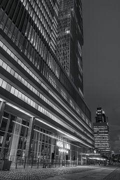 De Rotterdam ist ein Gebäude auf dem Wilhelminapier in Rotterdam von W J Kok