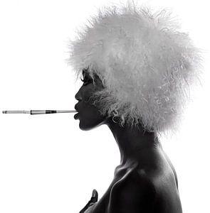 Naomi Campbell van David Potter