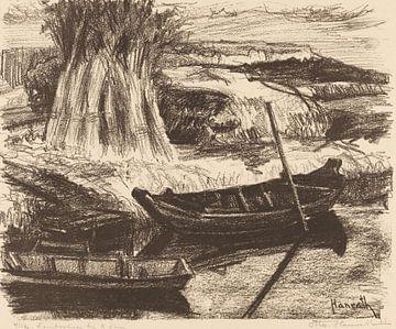 Landschaft bei Amsterdam, Otto Hanrath, 1923 von Atelier Liesjes
