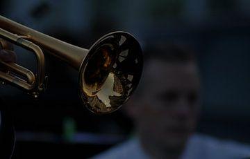 trompet spiegeling van Arjan Krijntjes
