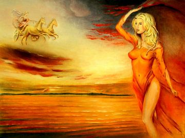 Eos - Göttin der Morgenröte  von Marita Zacharias