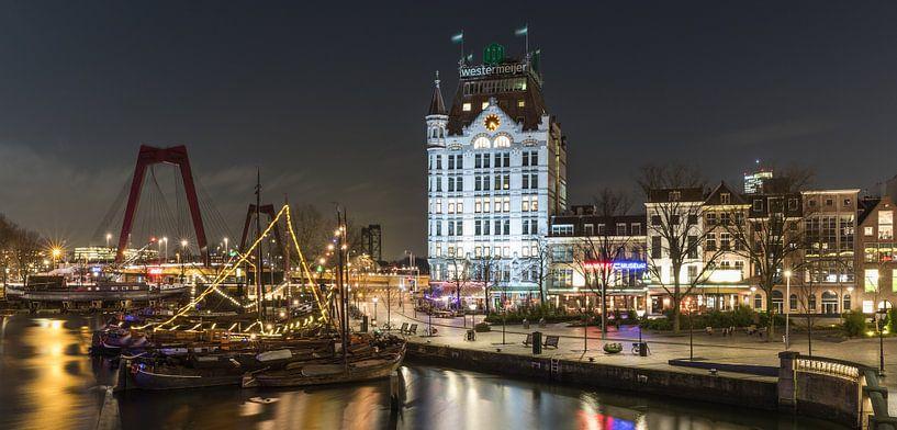 De Oudehaven en het Witte Huis in Rotterdam van MS Fotografie   Marc van der Stelt