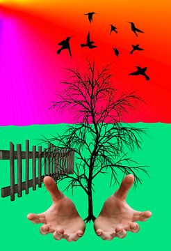 Plant een boom- plant a tree- Pflanze einen Baum-Plantez un arbre von aldino marsella