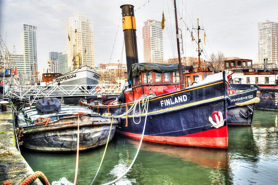 Oude Stoomboot, Rotterdam van Fotografie Arthur van Leeuwen