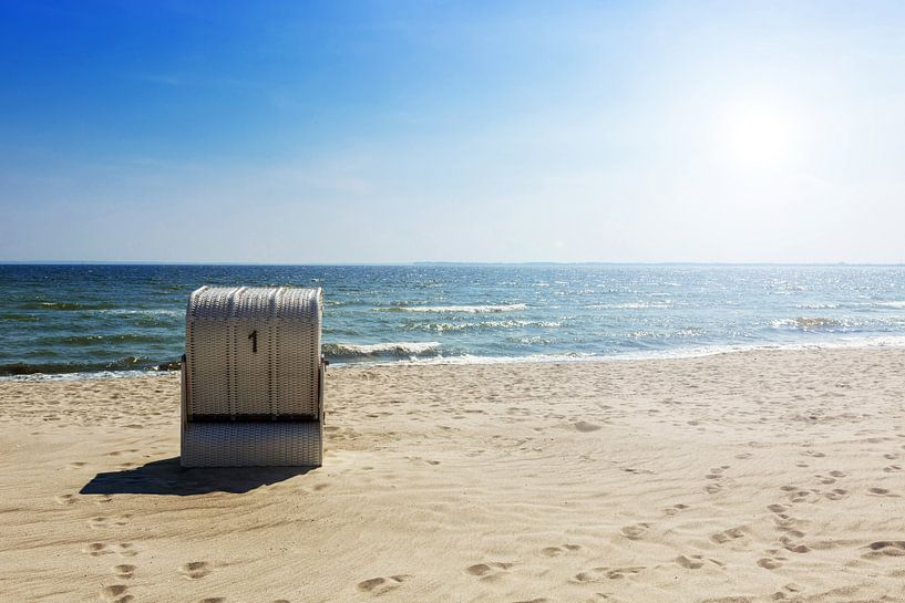Strandkorb Nummer 1 von Frank Herrmann