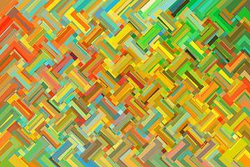 Abstrakt Nr 14 von Marion Tenbergen