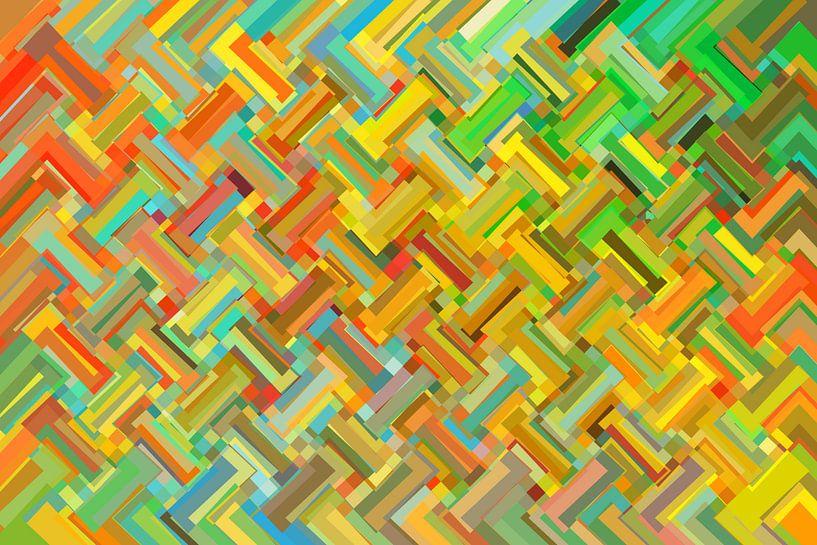 Abstract nr. 14 van Marion Tenbergen