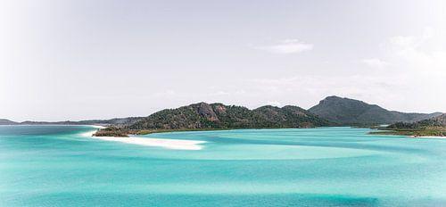 Vijftig tinten blauw op de Whitsundays
