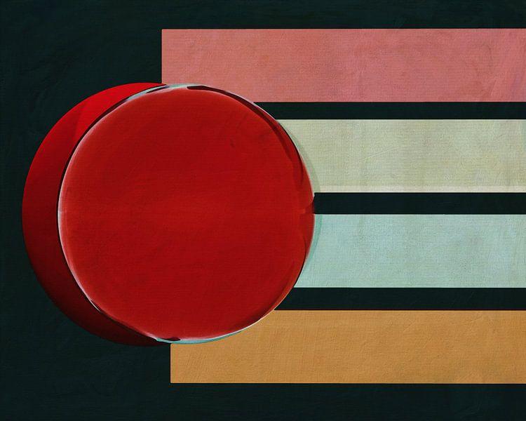 Constructivisme schilderij nummer 7 van Jan Keteleer