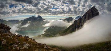 Fjordgard Panorama von Wojciech Kruczynski