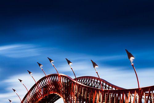 De Pythonbrug in Amsterdam van