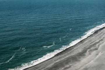 Zwart strand | Blauwe zee | Ijsland | Vik | van Floor Bogaerts