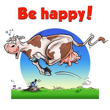 Be Happy Cow van
