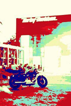 Mijn Harley Davidson 2020 van Michael Ladenthin