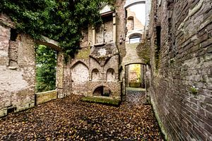 Ruine van een ooit statig Kasteel