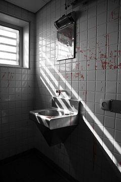 Wasruimte isoleerafdeling bijlmerbajes von Yannick uit den Boogaard