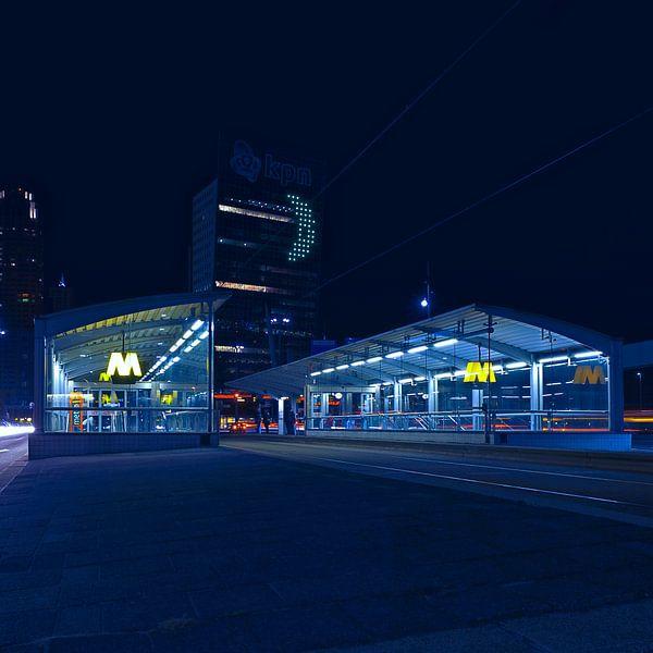 Metro Rotterdam sur Rob van der Teen