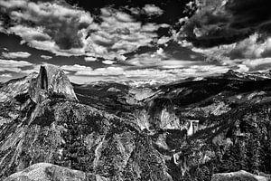 Yosemite Uitzicht Glacier Point Half Dome von Maja Bredschneijder