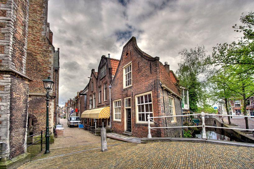 Huisje in Delft van Jan Kranendonk
