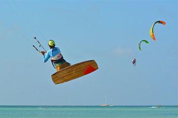 Kite surfer van