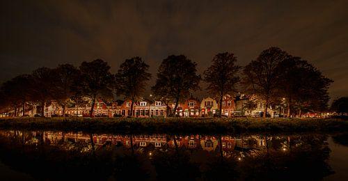Middelburg in de avond 2