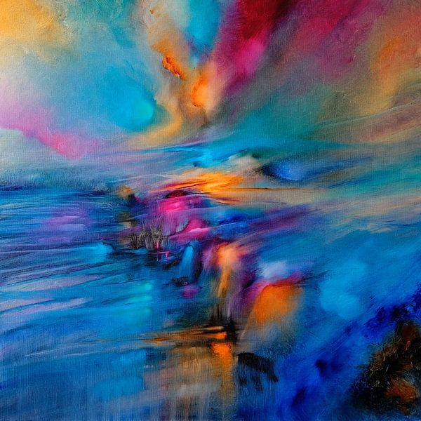 Le soleil et le vent II sur Annette Schmucker