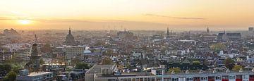 Leiden als panorama van Dirk van Egmond