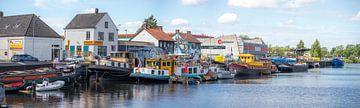 Breda - Panoramafoto Hafen von Belcrum von I Love Breda