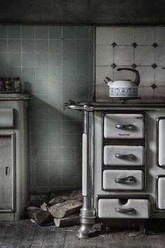 Keuken urbex  sur Vandain Fotografie