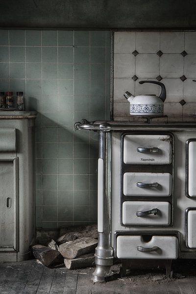 Keuken urbex  van Ingrid Van Damme fotografie