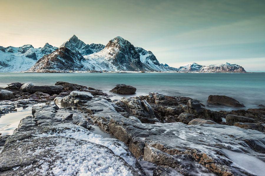 Rocks and mountains van Wim van D