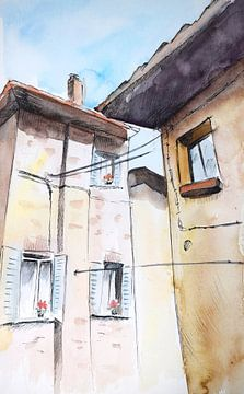 Vooruitzichten, Italië van Tat.kunst