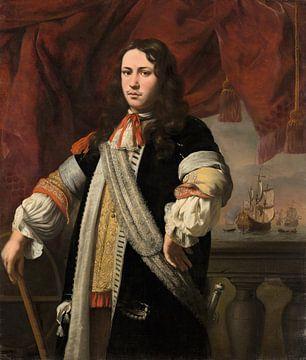 Portrait of Engel de Ruyter, Ferdinand Bol