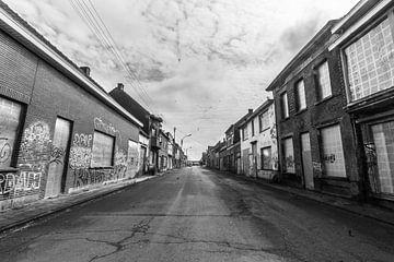 Naamloze straat  von Bart Houx