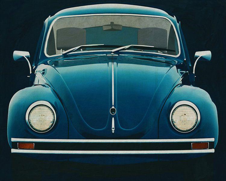 Volkswagen Beetle Sedan 1972 Face avant sur Jan Keteleer