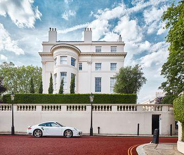 Klassischer Kontrast - Regent's Park, London. von David Bleeker