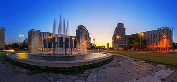 Straussberger Platz Berlin von Frank Herrmann