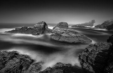 Bretagne schwarz-weiß von Jeroen Mikkers