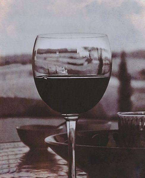 Vin Rouge, vin lila, violet, WINE sur Borgo San Bernardo