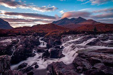 Wasserfall in Schottland von Paul Vergeer