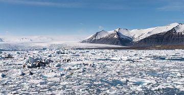 ijsmeer Jökulsárlón in IJsland von Eus Nieuwenhuizen