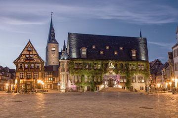 Stadhuis in Quedlinburg van Sergej Nickel