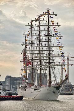 Zeilschip B.A.P. Unión in Rotterdam van Charlene van Koesveld