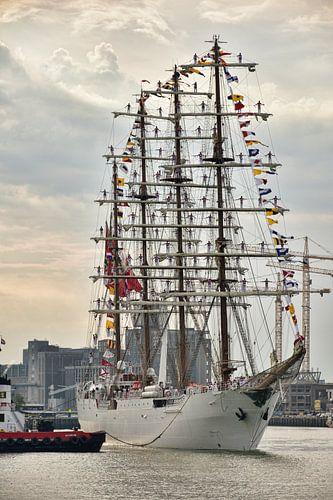 Zeilschip B.A.P. Unión in Rotterdam von Charlene van Koesveld