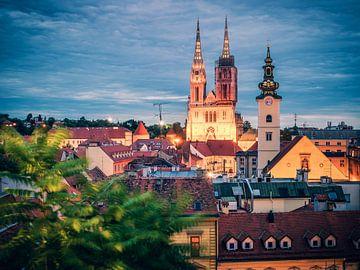 Zagreb Skyline von Alexander Voss